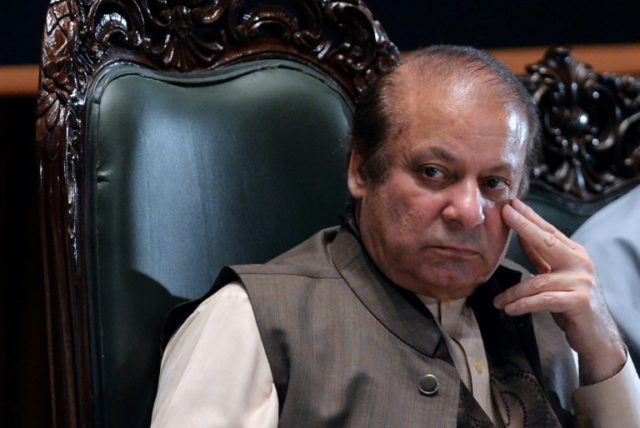 Nawaz Sharif was ousted as prime minister by the Supreme Court last year following a corruption investigation