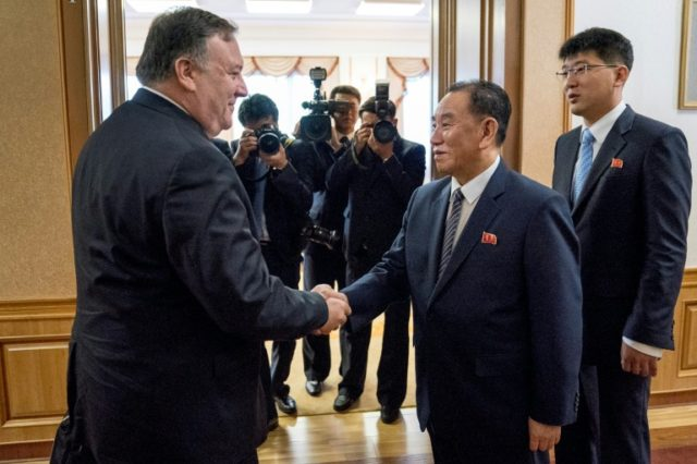 Pompeo insists North Korea talks 'very productive'