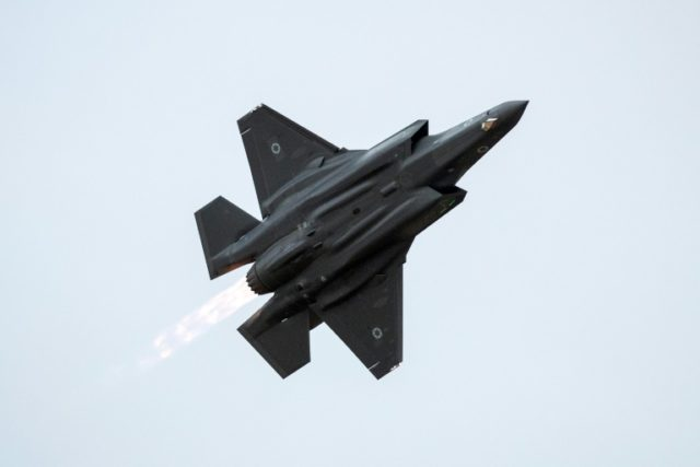 Syria says Israeli strikes target air base
