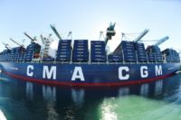 CMA CGM operates in 160 countries and has a fleet of 494 vessels