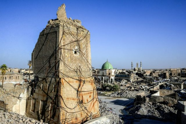 A year after jihadists ousted, Iraq's Mosul still in ruins