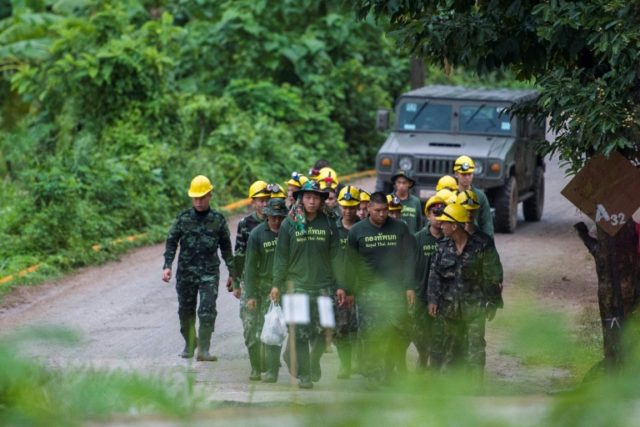 Eleven of the trapped boys have been guided to safety from the twisting, submerged passages of the Tham Luang cave