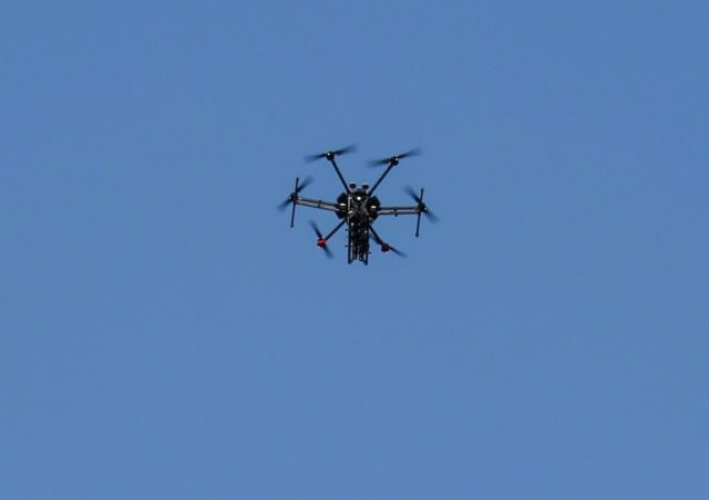 The drone landed at a house owned by Gerardo Sosa Olachea, the state's public security minister, in the city of Tecate