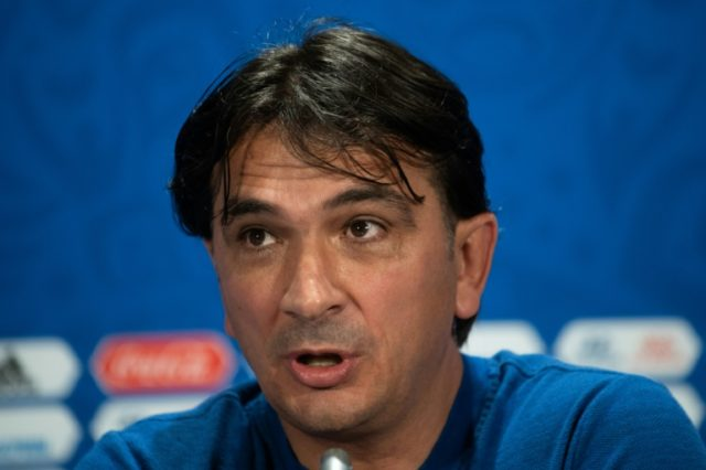 Croatia coach Zlatko Dalic spoke to the media in Moscow on Thursday