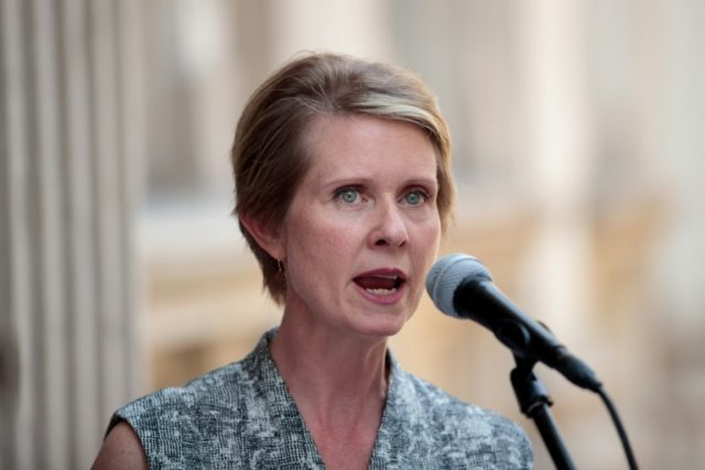 Cynthia Nixon keeps NY gubernatorial dream alive for now