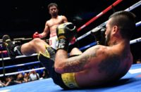 Manny Pacquiao (L) has successfully parlayed his boxing fame into a political career