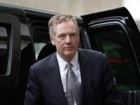 "US Trade Representative Robert Lighthizer said US President Donald Trump's trade tariffs were ""fully justified"""