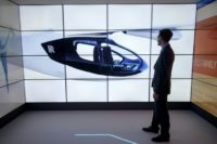 The Rolls-Royce EVTOL plane will seat four or five people, with a flying range of 500 miles (805 kilometres) and a top speed of 200 miles per hour