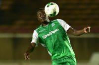 Eye on the ball: Gor Mahia's Humphrey Ochieng controls the ball