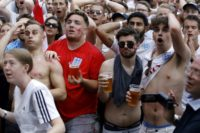 With football fans not in the shops, Britain's retail sales unexpectedly dipped in June, data showed Thursday.