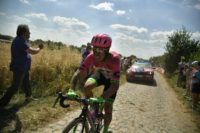 Uran resumed racing following his tumble during the ninth stage but said he then suffered pain in the mountains and was pulling out