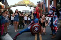 Comic Con In San Diego Draws Costumed Fans To Annual Convention