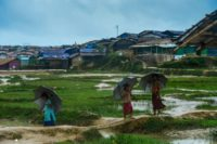 Some 700,000 Rohingya have fled a Myanmar military crackdown that some have described as wthnic cleansing