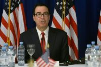 "US Treasury Secretary Steven Mnuchin says he wants a better ""balance"" in trade relations with China and the EU"