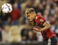 With a league-leading 22 goals in 22 appearances this season, Josef Martinez of Atlanta United is on pace to break the MLS season scoring record of 27 goals