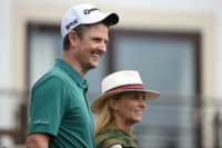 Justin Rose had good reason to smile after an impressive round of 64 on Saturday
