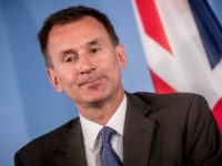 "British Foreign Secretary Jeremy Hunt said Britain will not ""blink"" when it comes to Brexit, warning of the ""very real risk"" of a no-deal"
