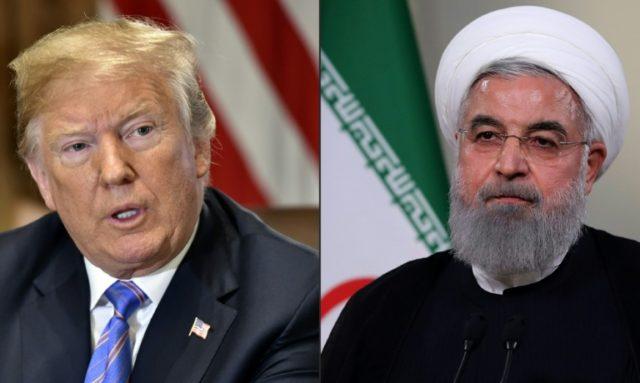 Trump threatens Iran -- in all-caps tweet