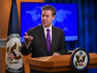 US Ambassador at Large for International Religious Freedom Sam Brownback calls for a redoubling of efforts to expand religious liberty globally