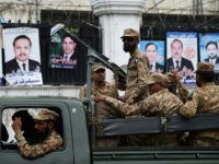 Military fans out across Pakistan ahead of election