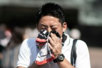 Temperatures rose above 40 degrees Celsius for the first time in Tokyo's metro area, with the national weather agency warning high temperatures may continue until early August