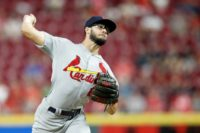 Daniel Poncedeleon of the St. Louis Cardinals is just the fifth pitcher to carry a no-hit bid through seven innings in his MLB debut since 1961