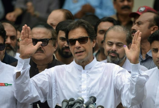 Khan claims win in Pakistan with vows on poverty, United States ties