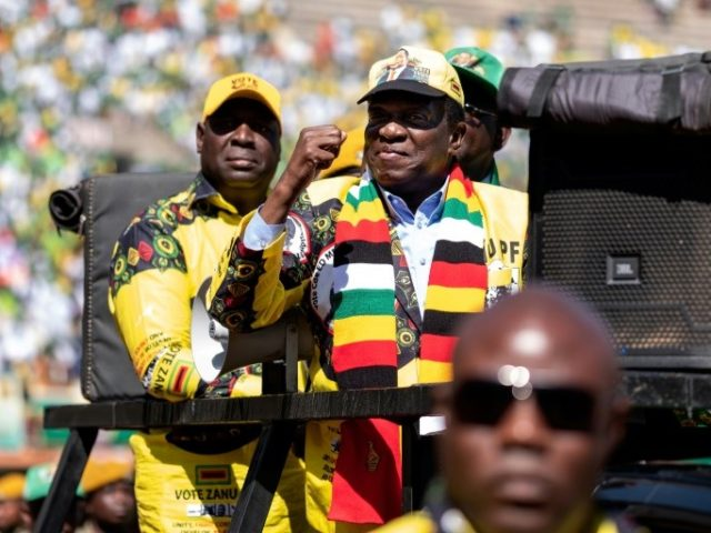 Zimbabwe votes in first post-Mugabe election
