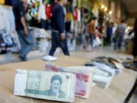 Iran currency drops 18% in two days