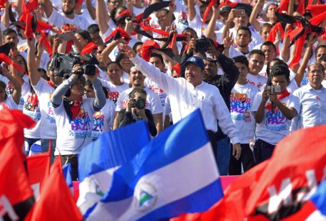 Washington blames Nicaragua's President Daniel Ortega for the deadly unrest that has left more than 300 dead