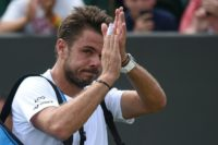 Stan Wawrinka, ranked 198th, fell to 6-11 this year after missing most of nine months before returning in May, after being ousted by US qualifier Donald Young at the ATP and WTA Washington Open