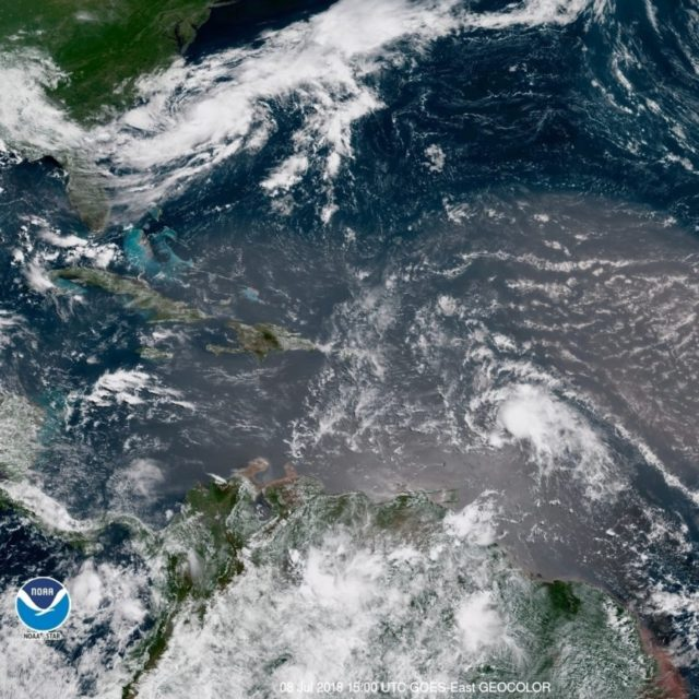 Tropical storm Chris is third named storm of 2018 Hurricane season