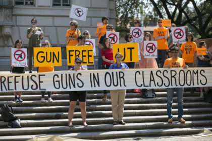Appeals court hears challenge to Texas campus carry law