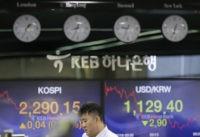 Global stocks drift lower as investors await news on trade