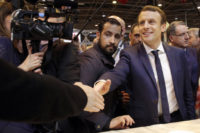 Video emerges of Macron bodyguard beating protester in Paris