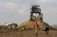 Israel strikes Gaza after shots fired at soldiers