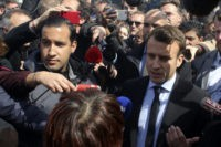 French investigators raid home of Macron's bodyguard