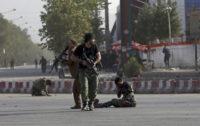 Blast in Afghanistan's Kabul kills 14, returning VP unharmed