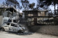 Rescue crews search for missing in Greek wildfires; 79 dead