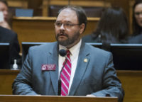 Georgia lawmaker who shouted racial slur on TV to resign