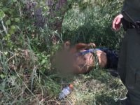 Rio Grande Valley Sector Border Patrol agents rescue an illegal alien who required treatment for heat-related illness in South Texas. (Photo: U.S. Border Patrol/Rio Grande Valley Sector)