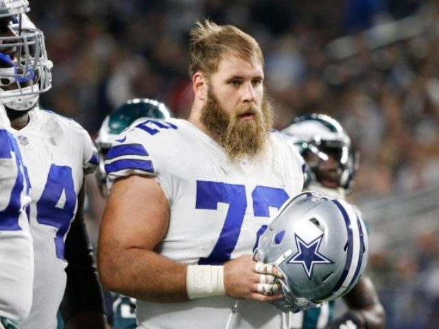 Cowboys starting center out indefinitely after being diagnosed with rare disorder