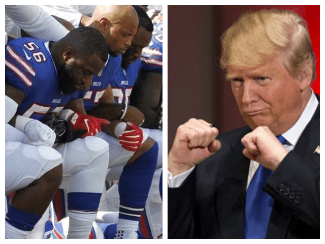 NFL Players, Media Rip President Trump for Tweet Criticizing Anthem Protests