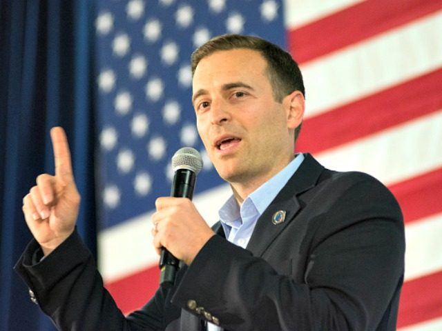 RENO, NV - FEBRUARY 22: Nevada attorney general, Adam Laxalt speaks at a rally for Republican presidential candidate, Sen. Ted Cruz (R-TX) at the Boys & Girls Club of Truckee Meadows in Reno, Nevada on February 22, 2016, the night before the Nevada GOP caucus.