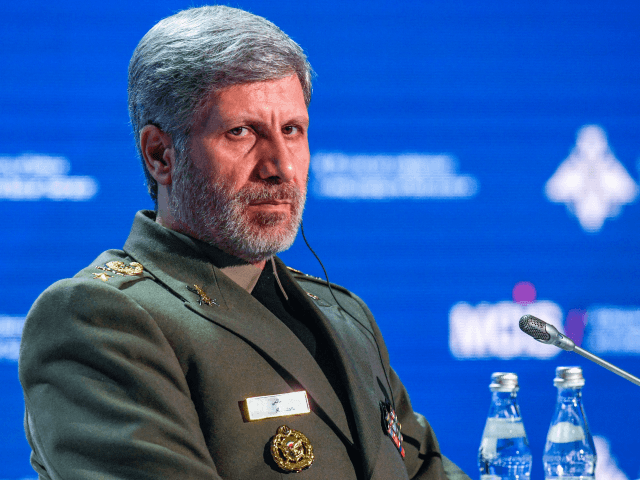 Iranian Defense Minister Amir Hatami attends the VII Moscow Conference on International Security MCIS-2018 in Moscow on April 4, 2018. / AFP PHOTO / Alexander NEMENOV (Photo credit should read ALEXANDER NEMENOV/AFP/Getty Images)