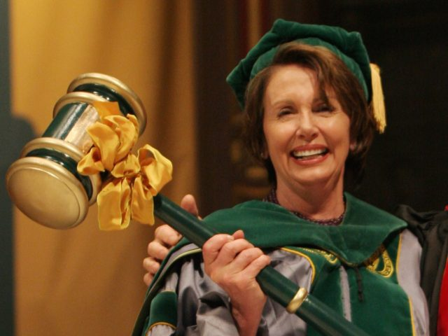 Another Nancy Pelosi gavel (George Nikitin / Associated Press)