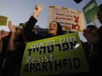 Anti-Nation State law protest Israel apartheid (Ahmad Gharabli / AFP / Getty)
