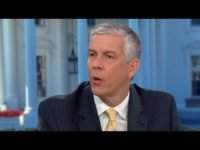 "Former Secretary of Education Arne Duncan sat down for an interview with Face the Nation's Margaret Brennan, discussing his new book, ""How Schools Work,"" in which he wrote that the American education system ""runs on lies."""