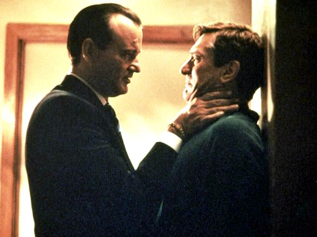 Robert De Niro and Bill Murray in Mad Dog and Glory (Universal Pictures, 1993)