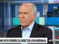 Brennan: I'm 'Thinking About' Taking Legal Action over Security Clearance Revocation